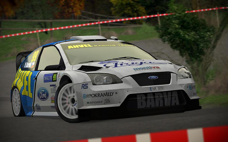 Láďa Barvík ještě s WRC - TR 2010