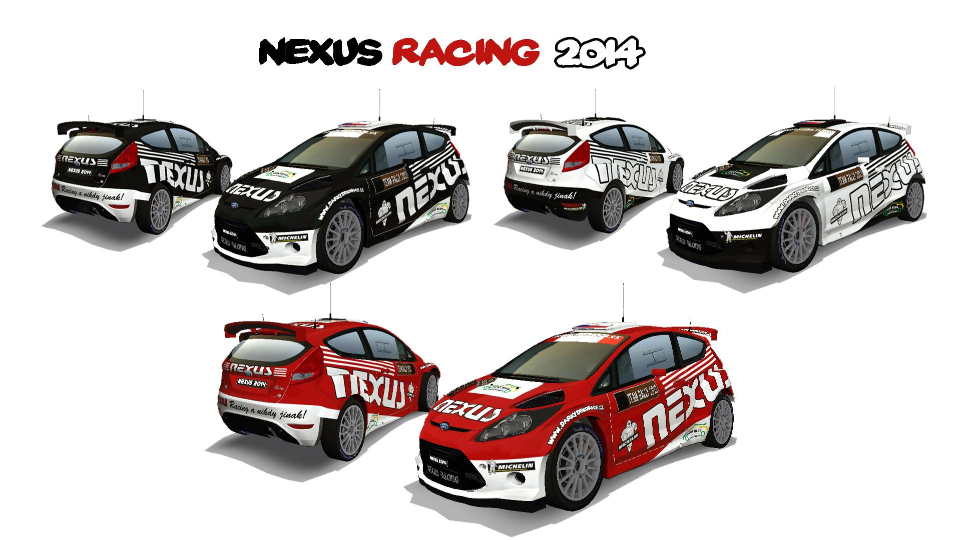 Válečné barvy NEXUS Racingu 2014